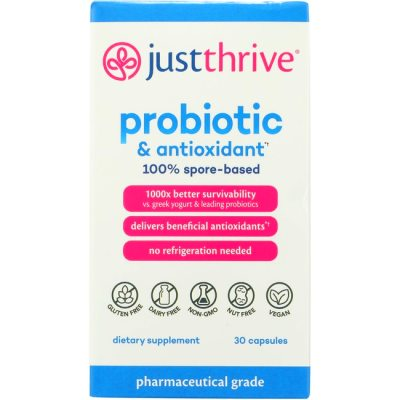 Just Thrive Just Thrive Probiotic & Antioxidant 30 Caps - Swanson ...