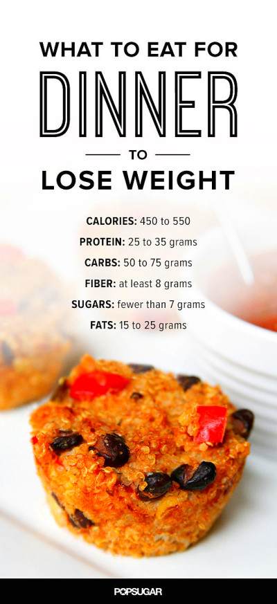 What to Eat For Dinner to Lose Weight | POPSUGAR Fitness ...