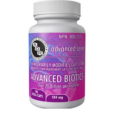 Probiotics: AOR Advanced Biotics | Metric Wellness | Dr ...