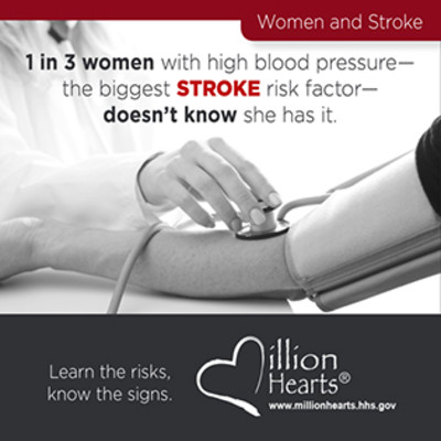 Stroke and HBP Month | Million Hearts