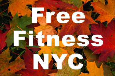 usually free workouts only happen in the summertime but fall is ...