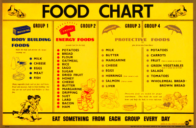 Ministry of Food - food groups chart