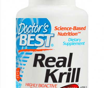Doctor's Best Real Krill Oil 350 mg – 60 Softgel | Online Medical ...