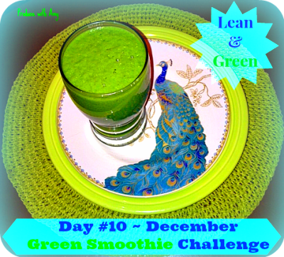Week #2 ~ December Green Smoothie Challenge (Recipes & Shopping List ...