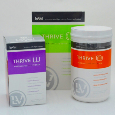... Thrive Experience Lifestyle Pack for Women with DFT (Shake Canister