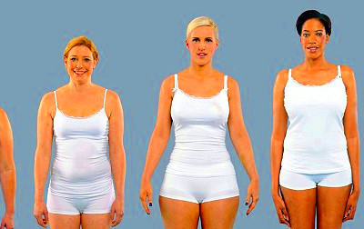 Each of these women weighs 154 pounds .. yet they clearly look ...
