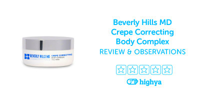 Beverly Hills MD Crepe Correcting Body Complex Reviews - Is it a Scam ...