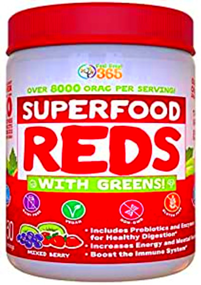 Vital Reds In Whole Foods – Defeat Sugar Diabetes