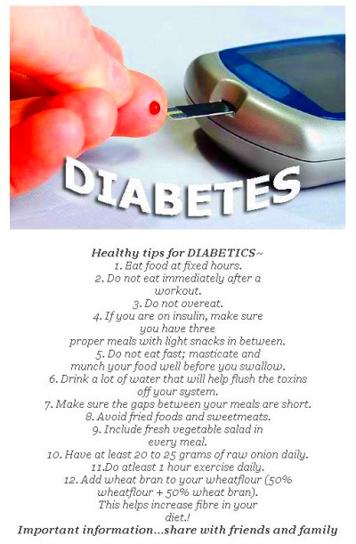 Dieting Tips And Recipes For Diabetics – Defeat Sugar Diabetes
