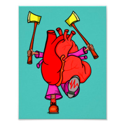Heart Attack Posters | Zazzle.co.uk