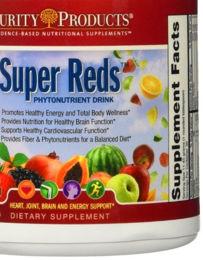 Details about Super Reds Formula by Purity Products - 30 Day Supply
