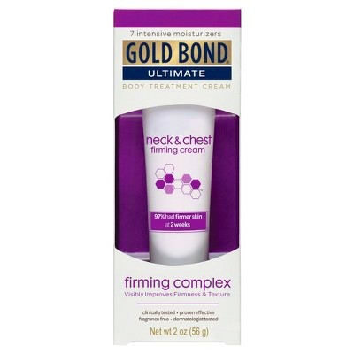 Gold Bond Ultimate Neck & Chest Firming Cream - ... : Target