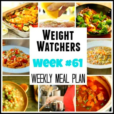 Weight Watchers Weekly Meal Plan #61 - Now with SmartPoints! - Simple ...