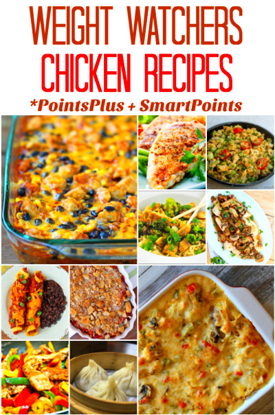 Weight Watchers Chicken Recipes (With PointsPlus and SmartPoint Values ...