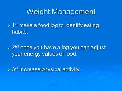 Chapter 5 Staying Active and Managing Your Weight - ppt video online download