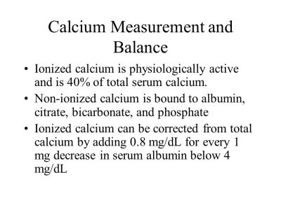 Ca++, PO4, PTH & VIT D Calcium, Phosphorus & Vitamin D - ppt video online download