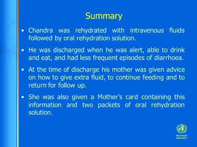 Chapter 5 Diarrhoea Case II - ppt download