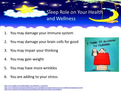 Sleep and Your Health I'm Trying to Sleep. - ppt video ...