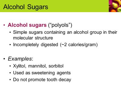 Useful Facts about Sugars, Starches, and Fiber - ppt video ...