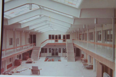First Baptist's Under Construction in 1968. (Image courtesy of Nancy ...
