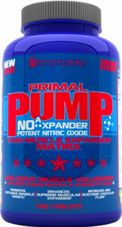 ... Support Pre-Workout Supplements Nitric Oxide Boosters Primal Pump