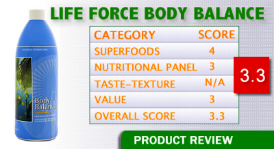 Life Force Body Balance Review