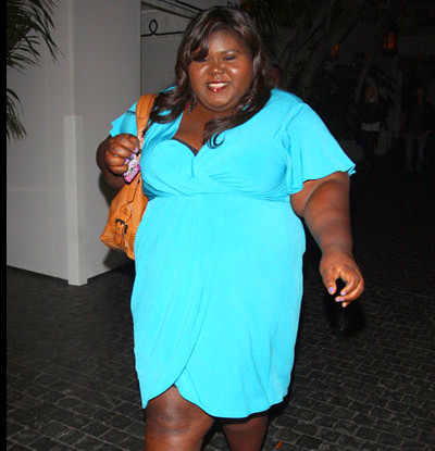 Photo: Gabourey Sidibe (Precious) Strikes A Pose - That Grape Juice ...