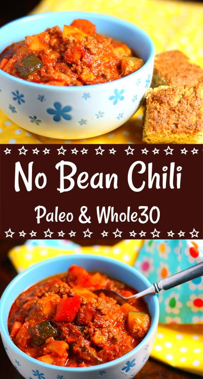 No Bean (Paleo) Chili | This West Coast Mommy
