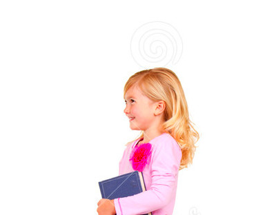 Child Climbing Staircase Of Books Royalty Free Stock Photography ...