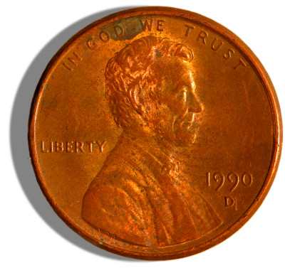 File:1990-issue US Penny obverse 2.jpg - Wikimedia Commons