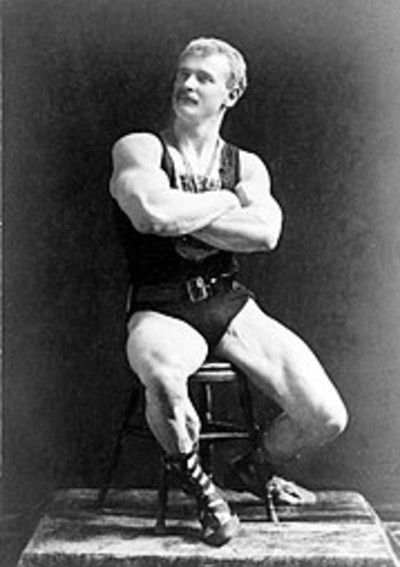 "Eugen Sandow , the ""Father of Modern Bodybuilding"""