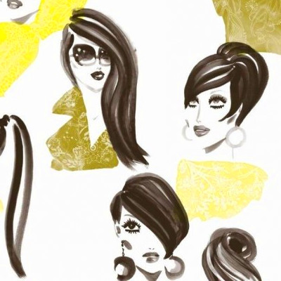 Buy Vital Wallpaper by Paper Moon - Make Up Chartreuse