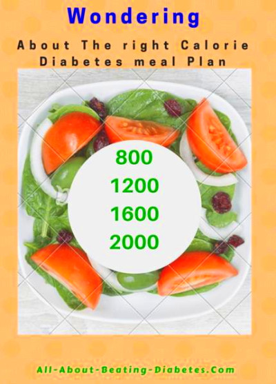 What is the right Diabetes meal plan