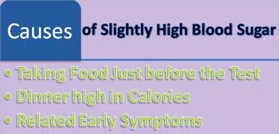 Is blood sugar level of 107 or 110 mg/dL high?