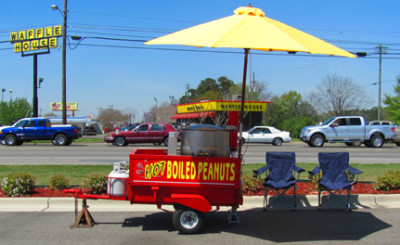 Peanut Vendor - Peanut Stands - Boiled Peanut World
