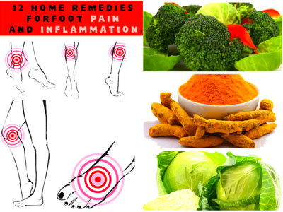 12 Home Remedies For Foot Pain And Inflammation - Boldsky.com