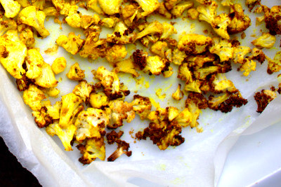 Roasted Spiced Cauliflower - A delicious and healthy side ...