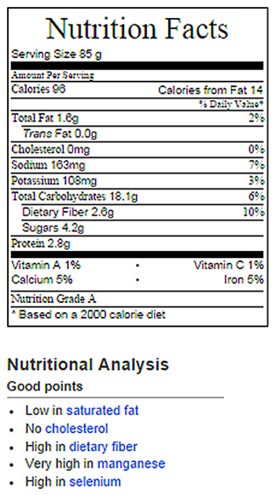 Baked Oatmeal Nutrition Facts – Chocolate Covered Katie