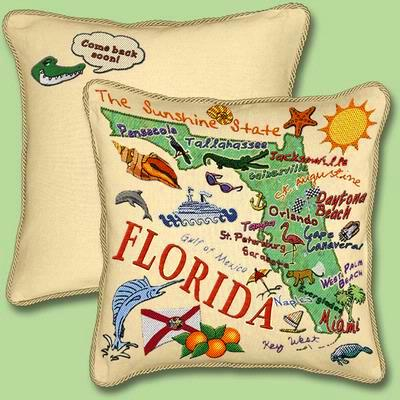 Cindy's Throws has a large selection of state 100% cotton ...