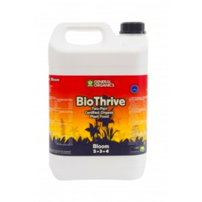 GHE BIO THRIVE BLOOM General Organics 5L - CityPlantes - Growshop en ...