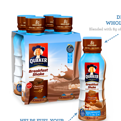 Quaker® Shakes for an Easy Go-To Breakfast Option - Clever Housewife