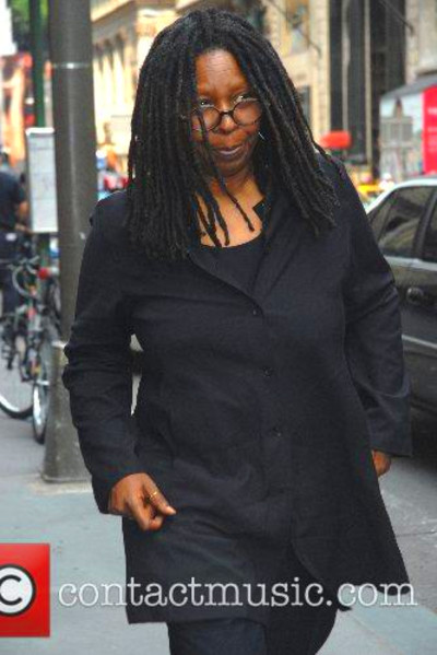 Whoopi Goldberg - The funeral of Brooke Astor at St ...
