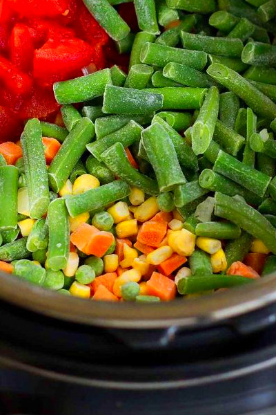 Instant Pot Vegetable Soup - Pressure Cooker or Stovetop ...
