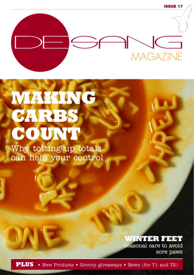 November issue Desang Magazine: How to Count Carbs