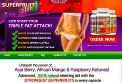 Superfruit Slim is weight loss supplement manufactured by Optimum ...
