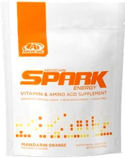 Caffeine in Spark Energy Drink
