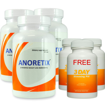Anoretix 3pack +3 Free 3DSP - Appetite and 50 similar items