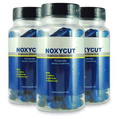 Details about NOXYCUT 3 Bottles - For Men - Build Muscle - Shred Fat ...