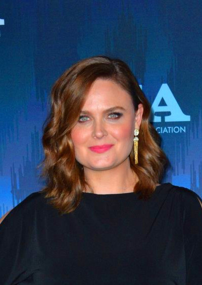 EMILY DESCHANEL at Fox All-star Party at 2017 Winter TCA Tour in Pasadena 01/11/2017 ...