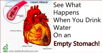 Drink Water On an Empty Stomach!